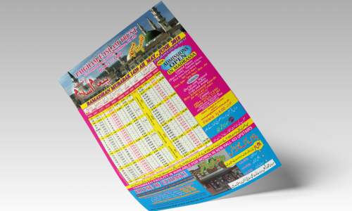 A3 Timetables